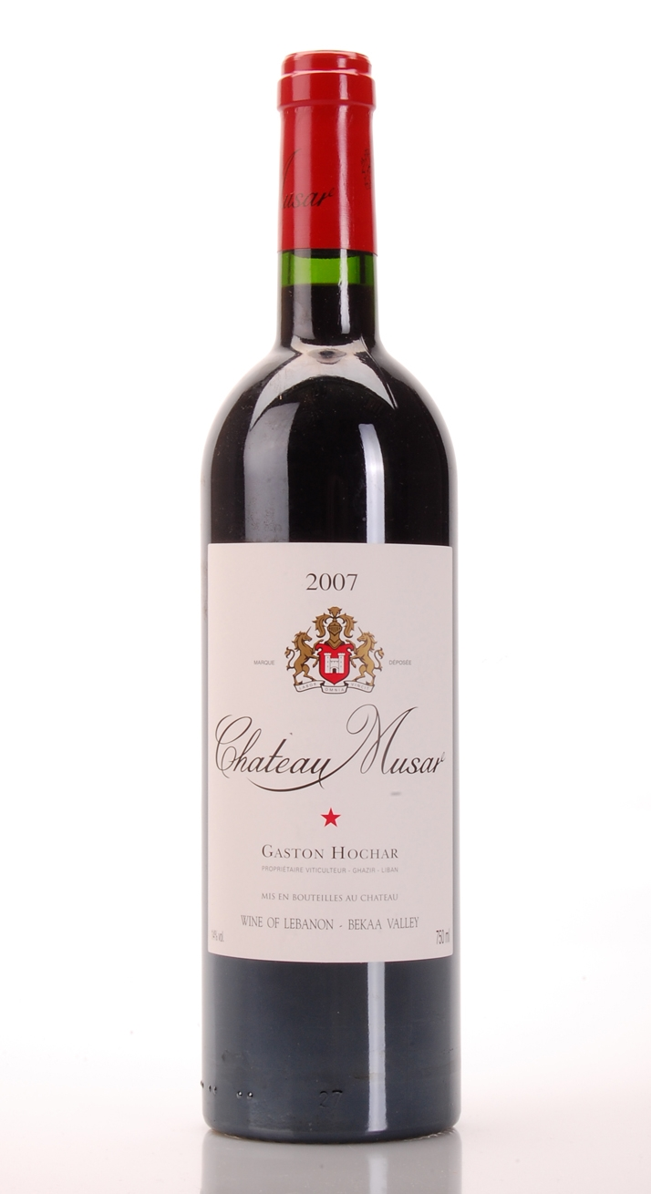 CHATEAU MUSAR 2007 CHATEAU MUSAR