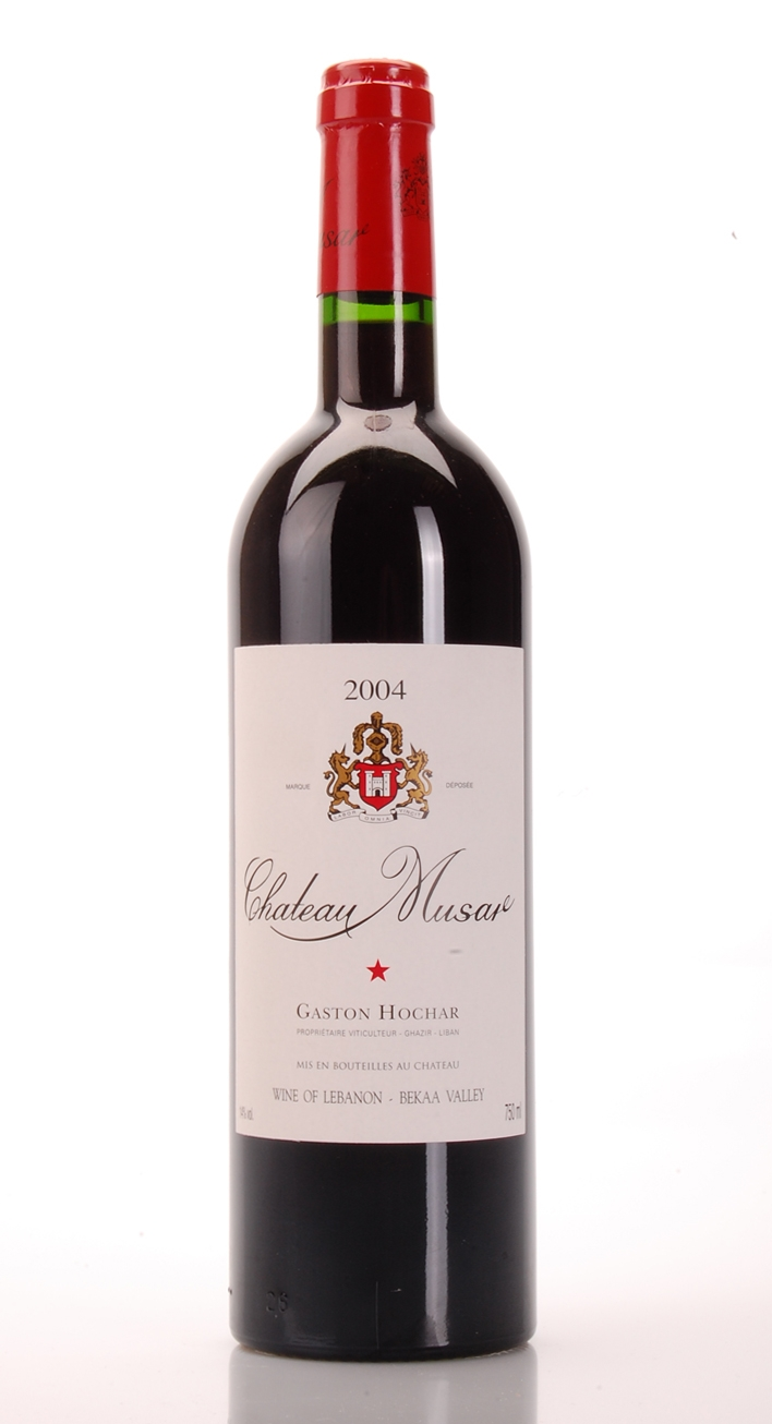 CHATEAU MUSAR 2004 CHATEAU MUSAR