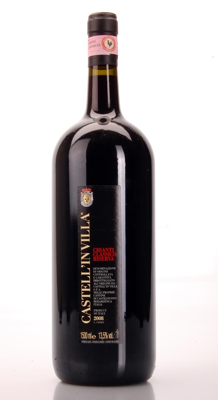 CHIANTI CLASSICO RISERVA DOCG 2008 MAGNUM CASTELLIN VILLA