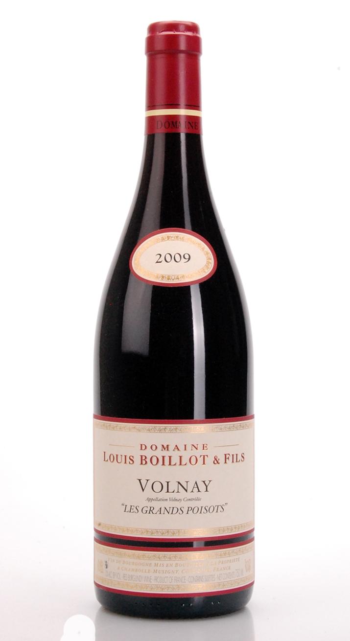 VOLNAY LES GRANDS POISOTS AOC 2009 DOMAINE LOUIS BOILLOT