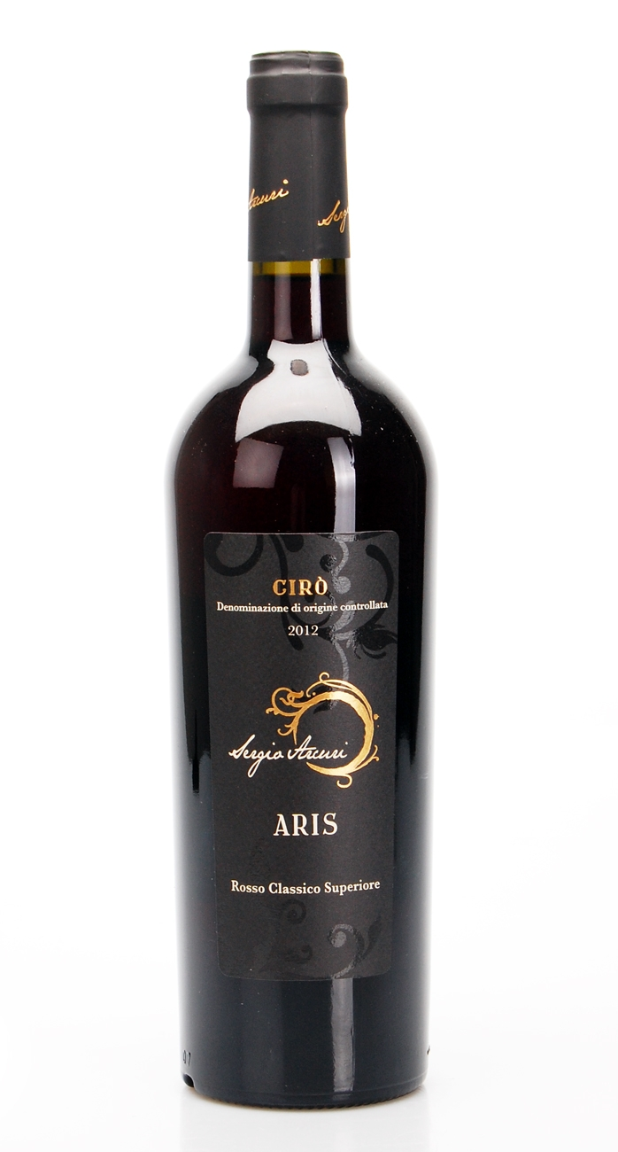 ARIS CIRO ROSSO CLASSICO SUPERIORE DOC 2012 - SERGIO ARCURI