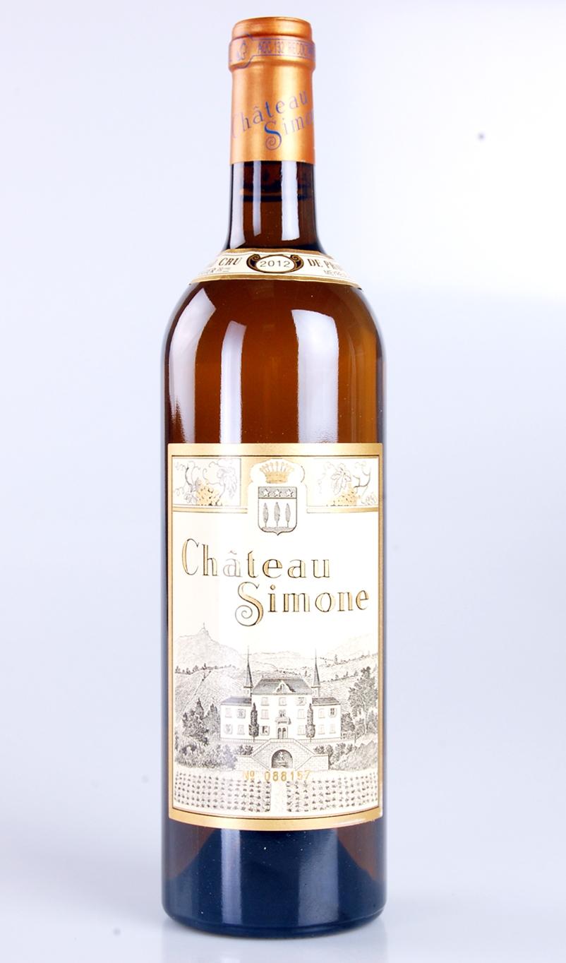 CHATEAU SIMONE  AOC PALETTE GRAND CRU BLANC 2012