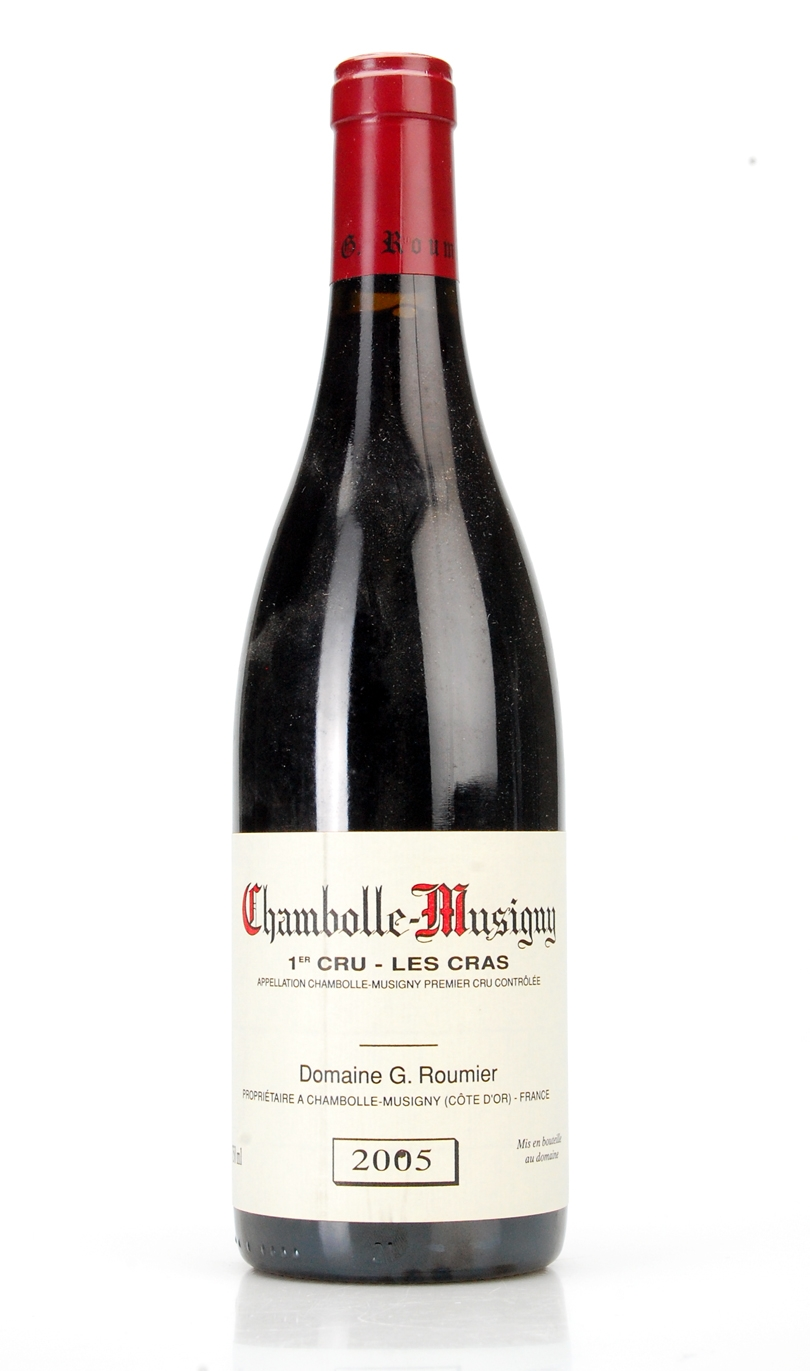 CHAMBOLLE-MUSIGNY 1ER CRU LE CRAS AOC 2005 DOMAINE GEORGES ROUMIER