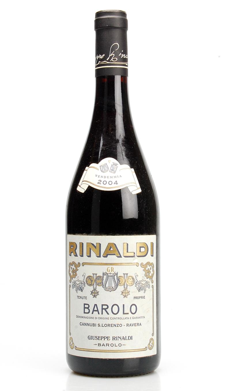 BAROLO CANNUBI SAN LORENZO - RAVERA DOCG 2004 Rinaldi Giuseppe
