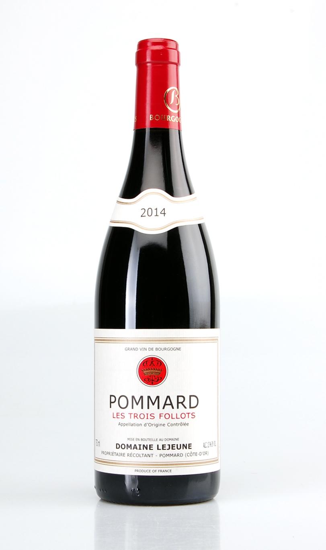 POMMARD LES TROIS FOLLOTS AOC 2014 DOMAINE LEJEUNE