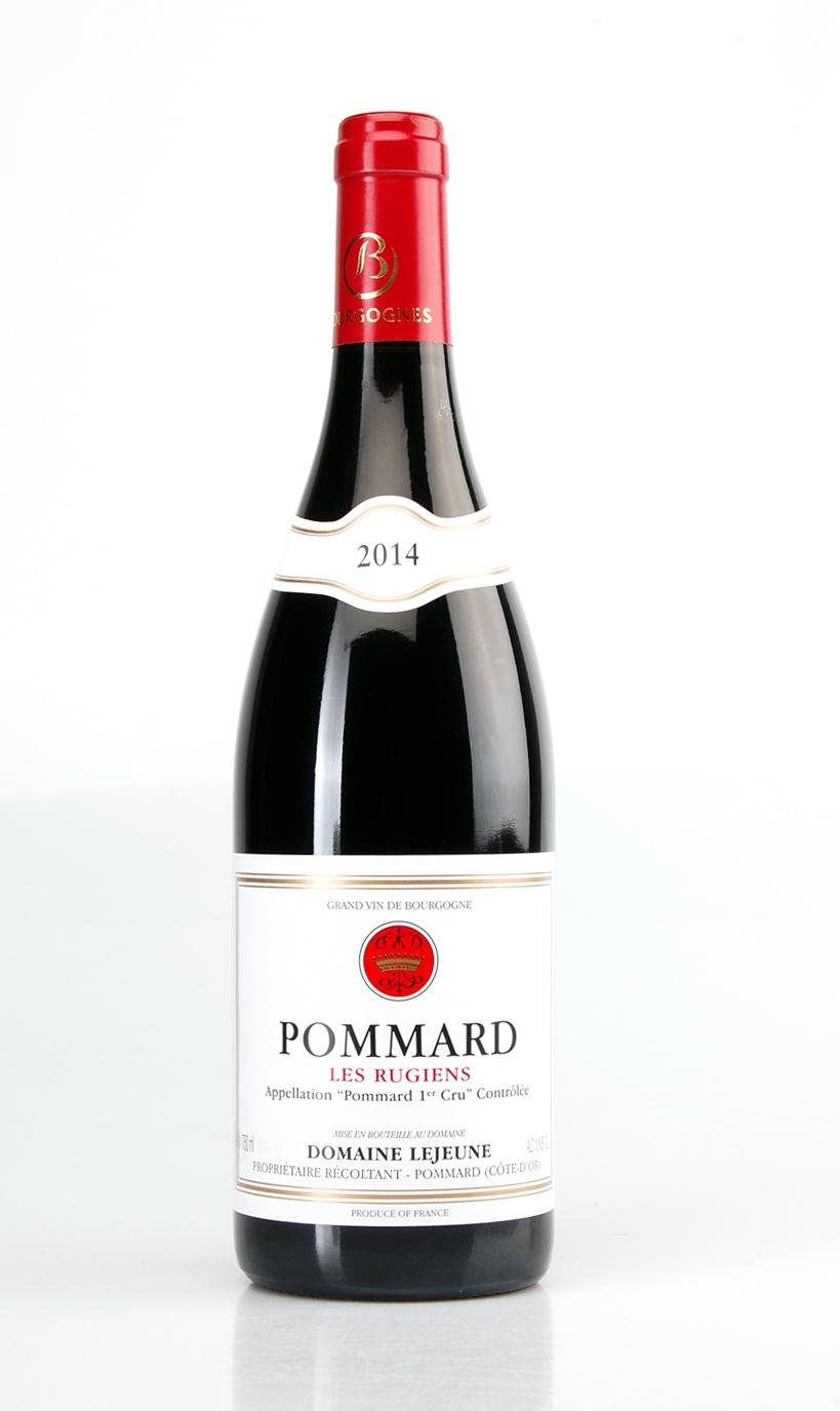 POMMARD LES RUGIENS PREMIER CRU AOC 2014 DOMAINE LEJEUNE