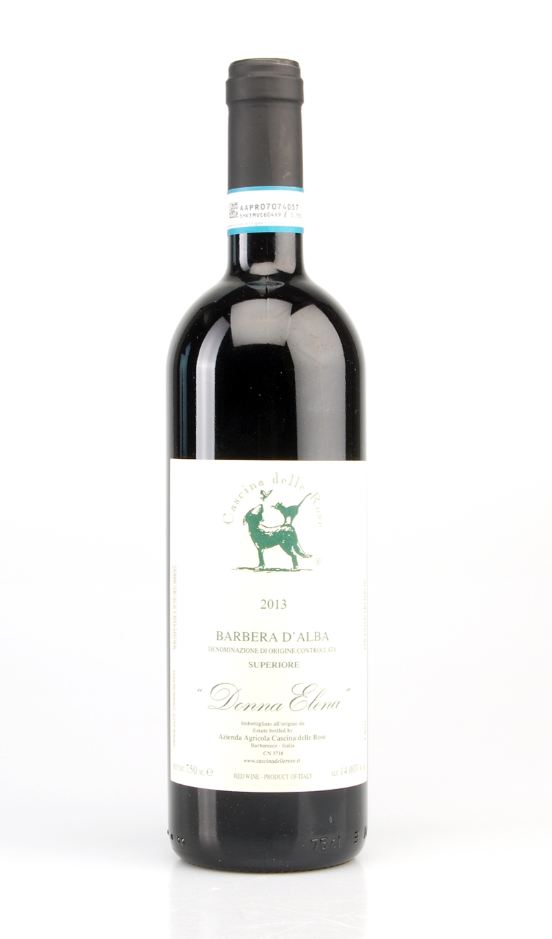 BARBERA DALBA SUPERIORE DONNA ELENA DOC 2013 CASCINA DELLE ROSE