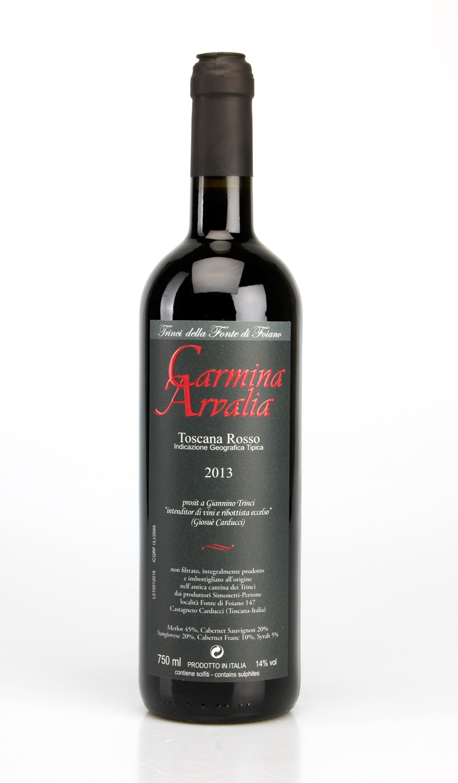 CARMINA ARVALIA TOSCANA IGT 2013 Simonetti-Perrone