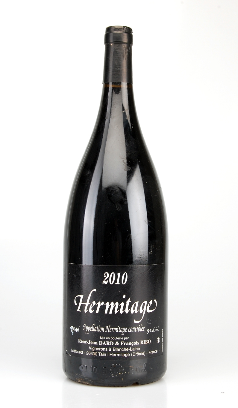 HERMITAGE ROUGE AOC 2010 MAGNUM DOMAINE DARD & RIBO