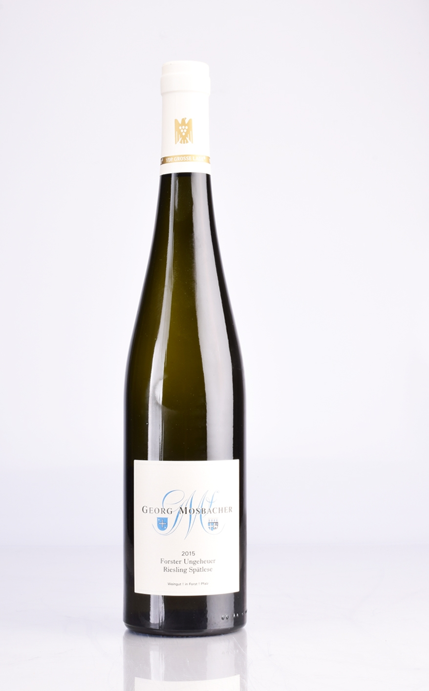 FORSTER UNGEHEUER RIESLING SPATLESE 2015 GEORG MOSBACHER