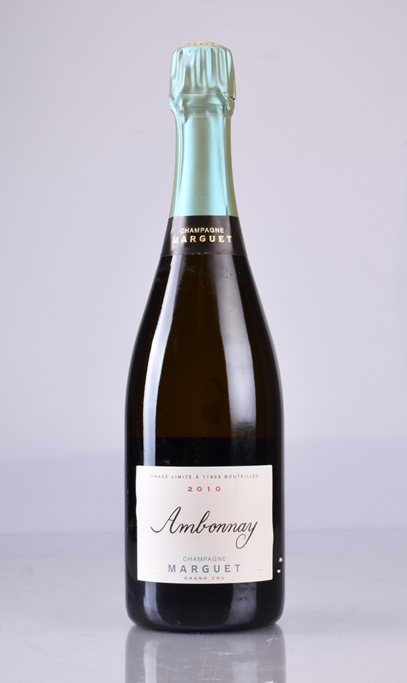 CHAMPAGNE AMBONNAY GRAND CRU PAS DOSE 2010 MARGUET