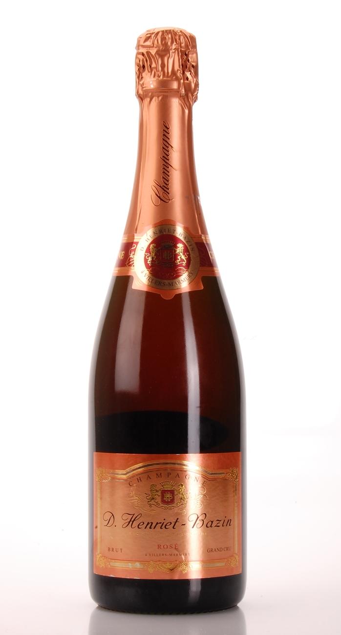 CHAMPAGNE cuvèe rosè grand cru brut D.Henriet-Bazin