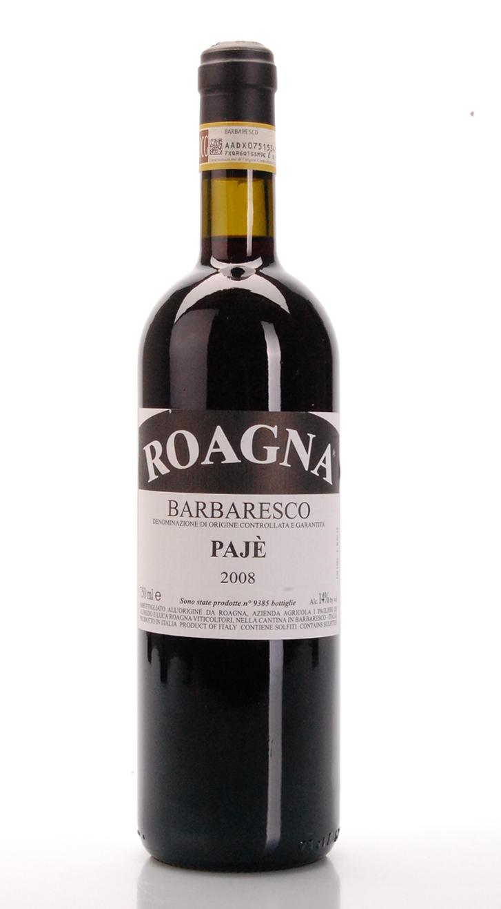 BARBARESCO PAJè DOCG 2008 Roagna