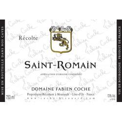 Saint Romain Blanc 2016 - Domaine Fabien Coche