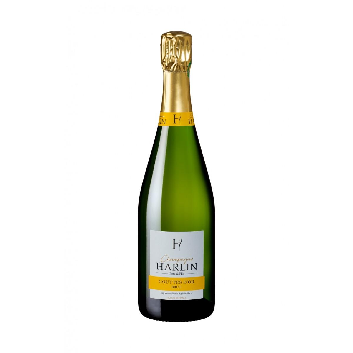 Champagne Cuvée Gouttes d'Or Magnum - Harlin Père et Fils
