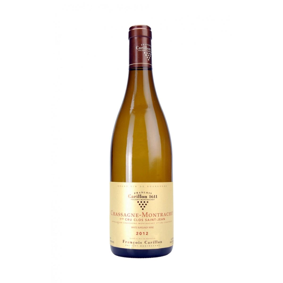 Chassagne Montrachet 1er Cru Clos Saint Jean 2012 - Domaine Francois Carillon
