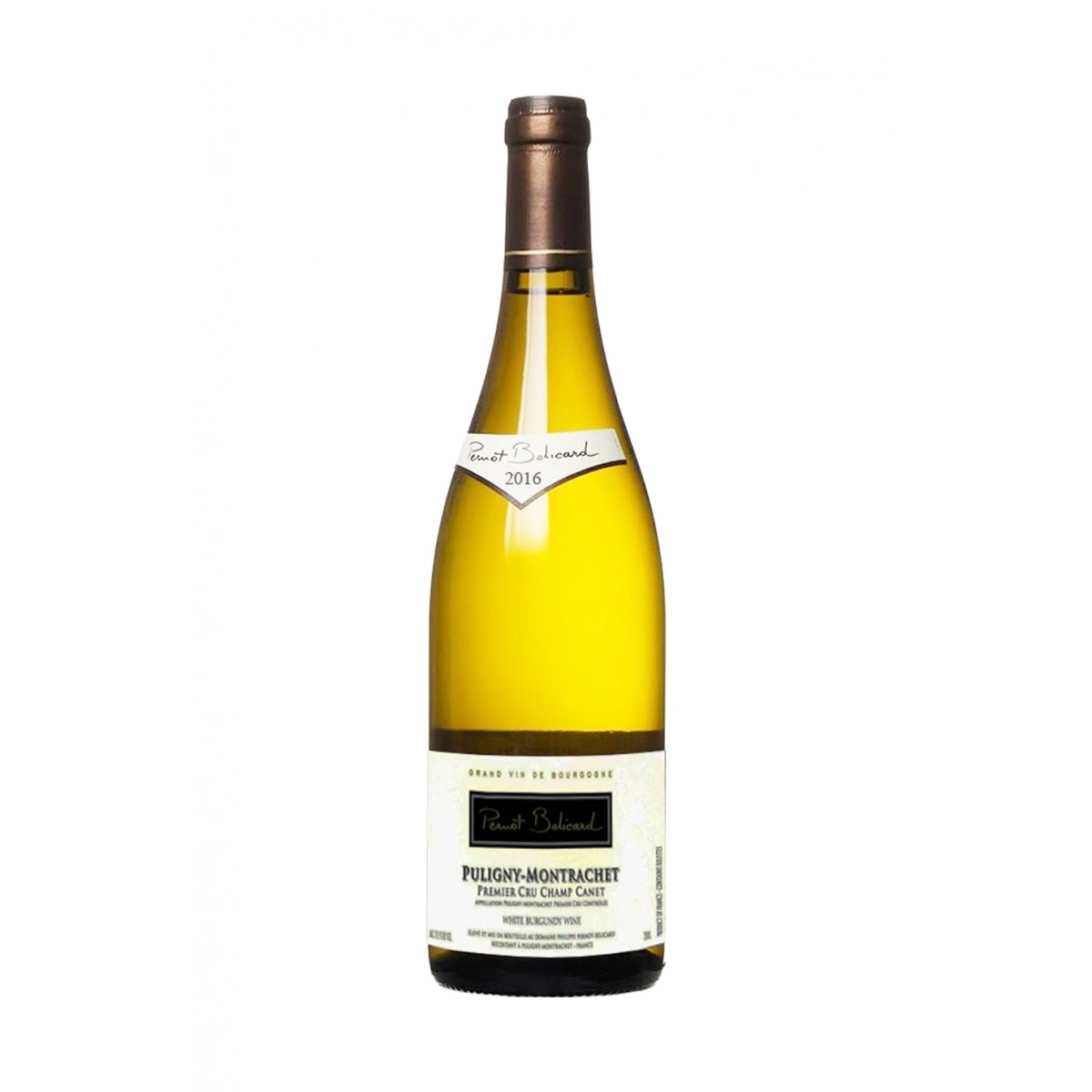 Puligny Montrachet 1er Cru Champ Canet 2016 - Domaine Pernot Belicard