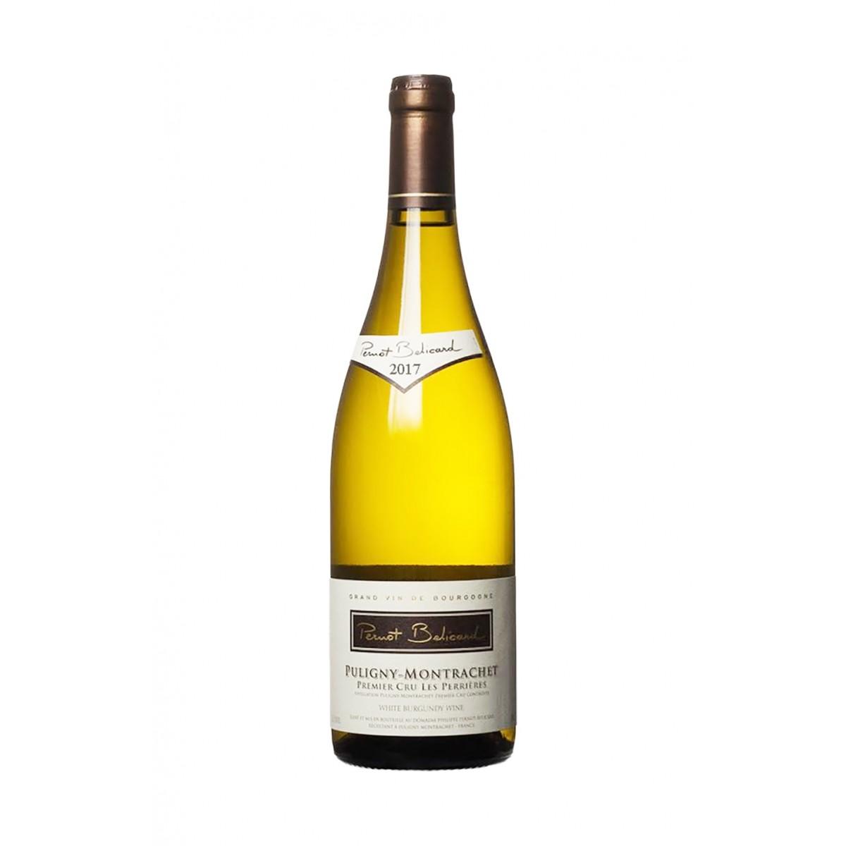 Puligny Montrachet 1er Cru Les Perrieres 2017 - Domaine Pernot Belicard