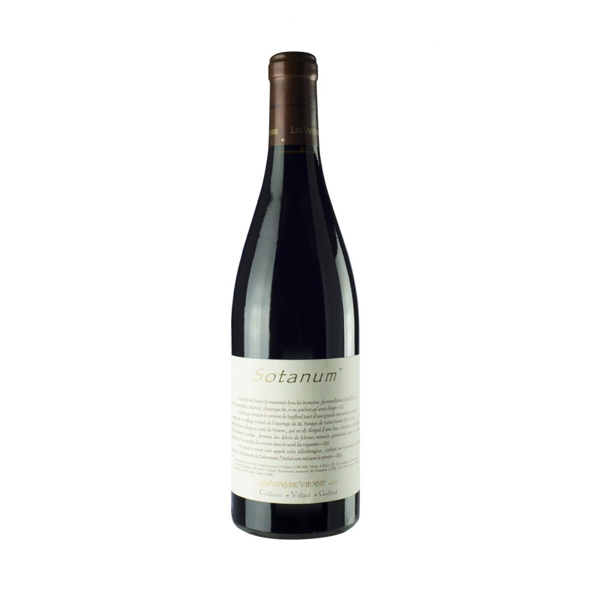Sotanum 2013 - Les Vins de Vienne