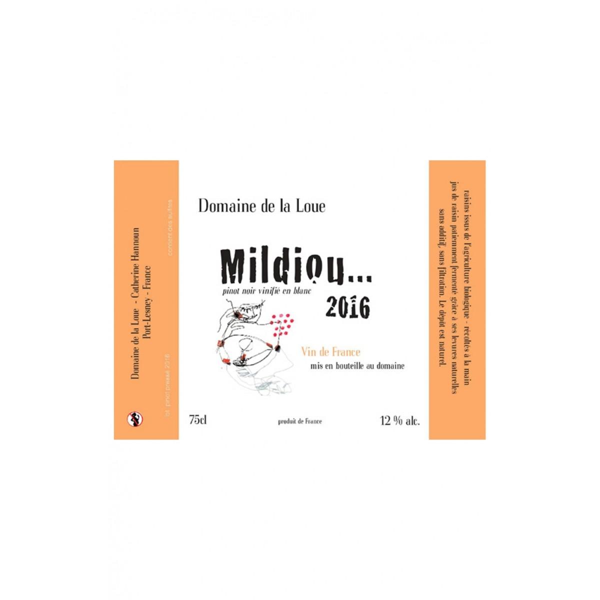 Arbois Mildiou 2016 - Domaine de la Loue