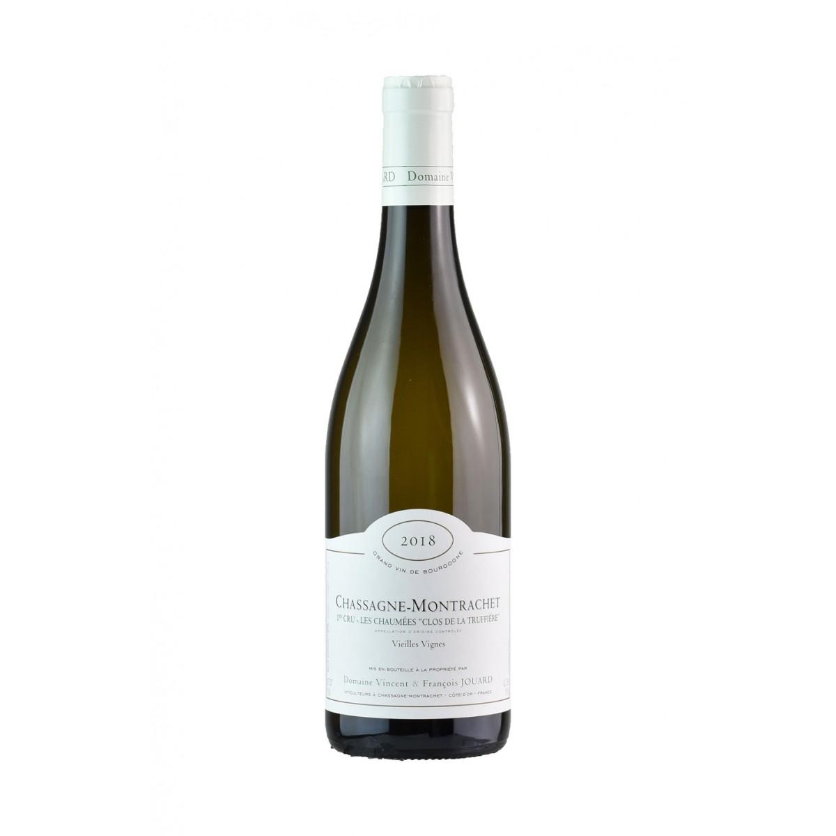 Chassagne Montrachet 1er Cru Les Chaumees Clos de la Truffiere Vieilles Vignes Blanc 2018 - Domaine Vincent & François Jouard