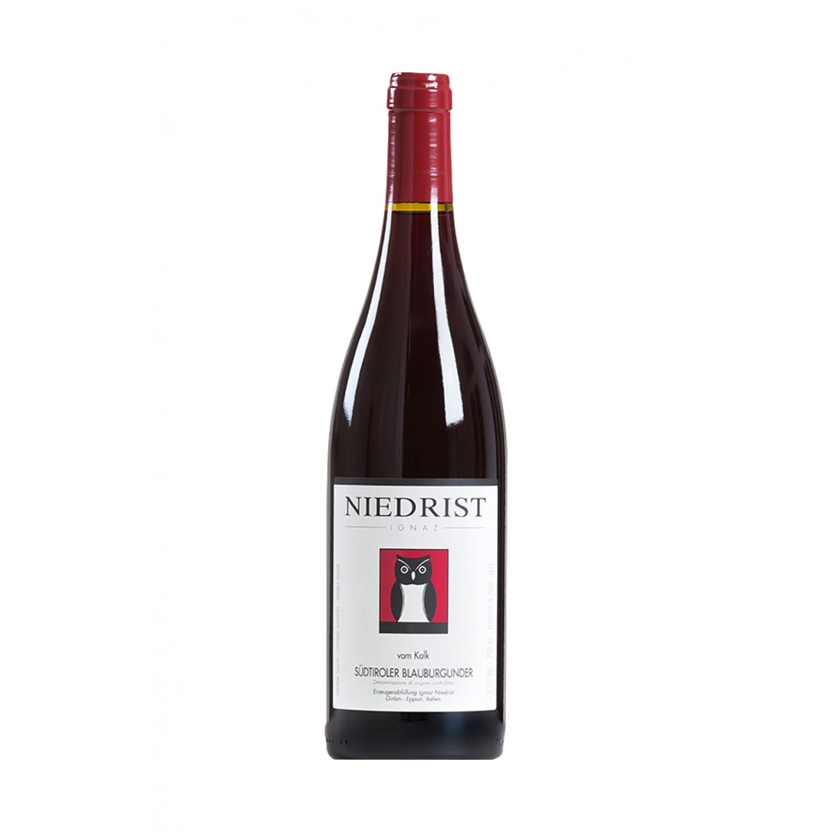Pinot Nero vom Kalk 2016 - Tenuta Ignaz Niedrist