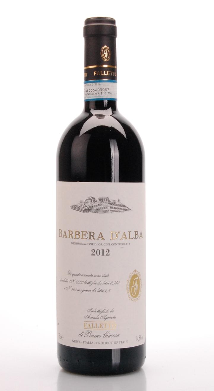 BARBERA DALBA DOC 2012 AZ. AG. FALLETTO