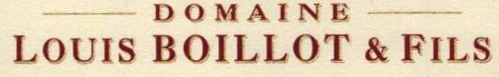 Domaine Louis Boillot